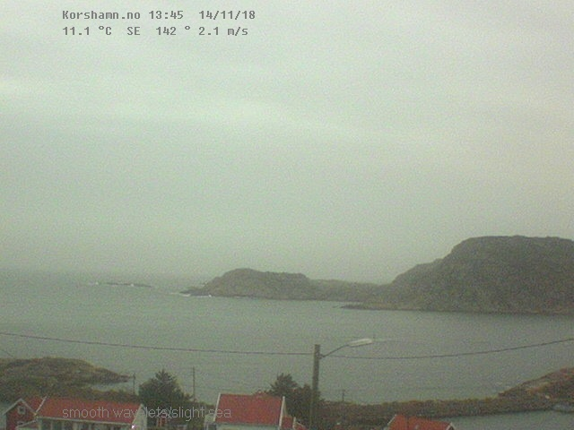 Webcam Korshavn - Norway Live webcamera